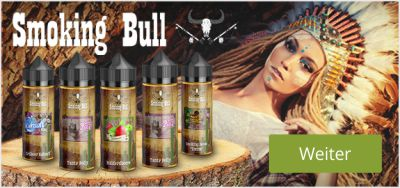 Smoking Bull Shake and Vape Liquid