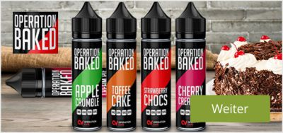 Operation Baked Shake and Vape Liquid